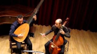 Marin Marais 'Chaconne' - Robert Smith, viola da gamba & Israel Golani, theorbo