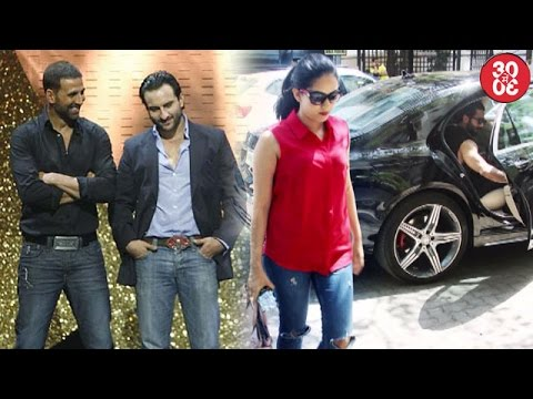 Saif Stands By Akshay On National Awards | Shahid -Mira Snapped Post A Lunch Date