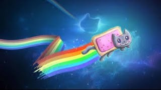 NYAN CAT SONG AHEAD, BE AWARE!!!! - SO MUCH RAINBOWS!!!! - SlimeyPlayz