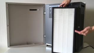 How to Change Filters for Blueair BA400 Series Air Purifiers with Replacement Filters by VEVA