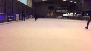 Ice skating freestyle india #ashish #iskate