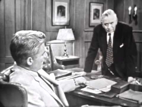 William Hopper Screen Test as Perry Mason 1956