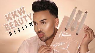 KKW Beauty Contour Kit Review + Demo | Mac Daddyy | Angel Merino