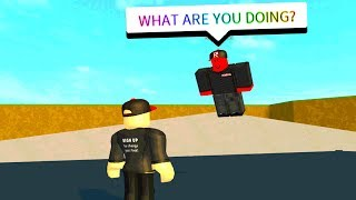 HERE IS HOW TO SUMMON THE RED GUEST.. (Roblox)