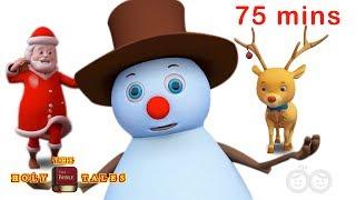 Top 25 Christmas Carols | Christmas Songs | Bible Songs For Kids and Children with Lyrics