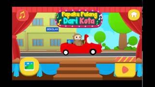 Papaku Pulang Dari Kota Bersama Pak Atan Didi Nana Jojo - Didi And Friends Playtown | Game Review