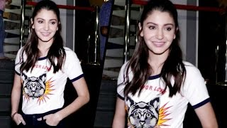 Anushka Sharma Spotted At Pvr Icon Cinema For The Special Screening Of Phillauri
