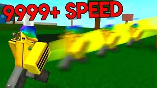 ROBLOX SPEED SIMULATOR *FASTER THAN SOUND*