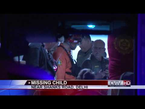 Crews Search for Missing Child in Delhi