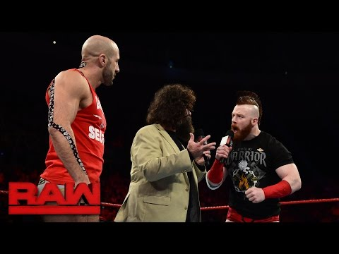 Xxx Mp4 Mick Foley Makes An Offer To Cesaro And Sheamus Raw Sept 26 2016 3gp Sex