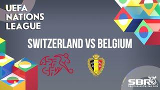 Switzerland vs Belgium   UEFA Nations League   Match Predictions