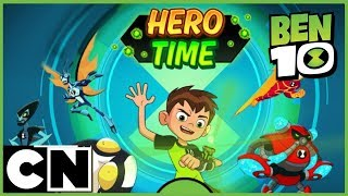 Ben 10 Game | Hero Time | PLAY NOW! | Cartoon Network