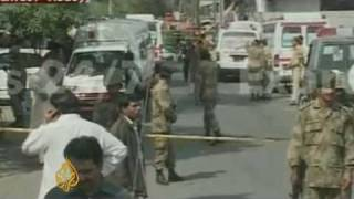 Pakistani army 'target of attack'