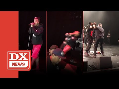 Xxx Mp4 XXXTENTACION Gets Jumped On Stage In San Diego On Rob Stone's Turf Drake Throws Shade 3gp Sex