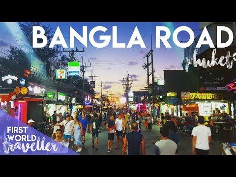BANGLA WALKING STREET | SEXY TIME IN PHUKET, THAILAND - FIRST WORLD TRAVELLER