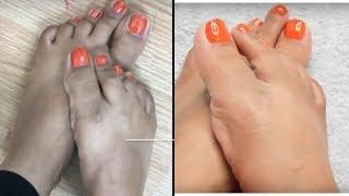 How to: DIY Pedicure at home Brown,Tan Feet || Brownbeautysimor || Indian Beauty Guru