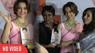 Kangana Ranaut At Seventy And To Hell With It Book Launch | Viralbollywood