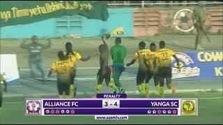 ALLIANCE FC 1-1 YANGA SC (P:3-4): MAGOLI NA MIKWAJU YA PENATI (ASFC - 30/3/2019)