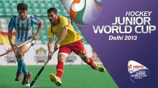 Argentina vs Spain - Men's Hero Hockey Junior World Cup India [09/12/2013]