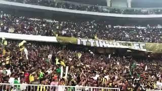 طرب جمهور الاتحاد في مباراة الفيصلي بنهائي كأس الملك HD