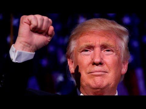 watch Donald Trump's full victory speech