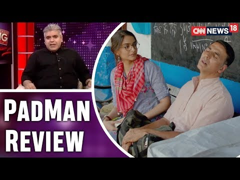 Xxx Mp4 PadMan Review By Rajeev Masand Sonam Kapoor Radhika Apte CNN News18 3gp Sex