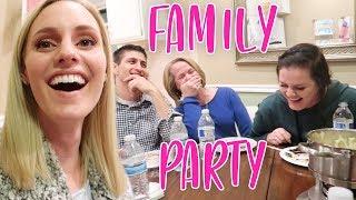 SCANDALOUS FAMILY FONDUE PARTY!