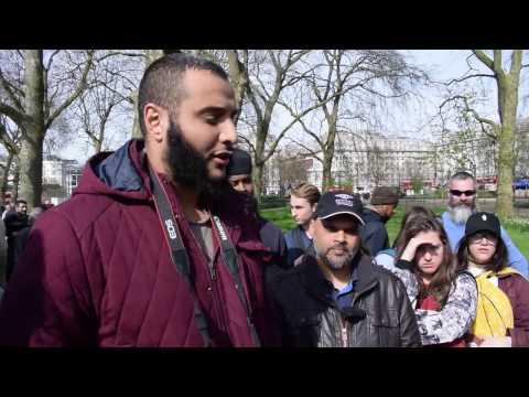 Xxx Mp4 Fierce Woman Interrogates Muslims On Terrorism 3gp Sex