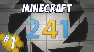 241 Minecraft Puzzle Map - Part 1 - The Robots Took Over