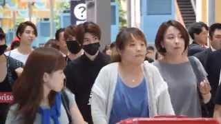 [fancam]150724 Kansai Airport SMrookies 입국