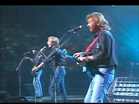 Bee Gees Stayin Alive 1989 Live Video