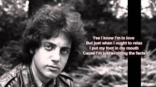 Leave A Tender Moment Alone + Billy Joel + Lyrics / HD