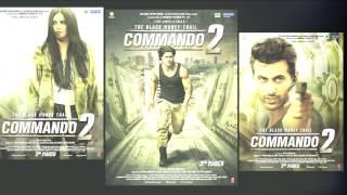 Commando 2 Movie FIRST Look Poster - Vidyut Jammwal,Adah Sharma,Esha Gupta