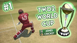 TWO2 WORLD CUP #1 (Ashes Cricket)