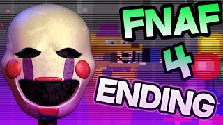 FNAF 4 ENDING EXPLAINED | YOU are PUPPET or MARIONETTE? | Five Nights at Freddy's 4 ENDING EXPLAINED