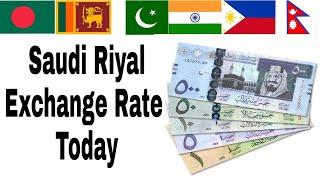 Saudi Riyal / Saudi arabia new currency notes 2018 / Saudi Riyal Currency Exchange Rate 2018