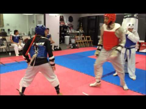 HMA Olympic Taekwondo Sparring November 2015