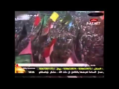 الشيخ صالح المشهد حوار بين العباس والامام الحسين.wmv