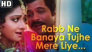 Rabb Ne Banaya Tujhe Mere Liye - Heer Ranjha -  Anil Kapoor - Sridevi - Lata Mangeshkar Hits