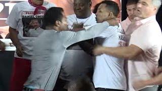 Ricardo Mayorga Slaps Shane Mosley's Girlfriend's Butt!