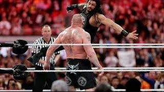 WWE Amazing Fight of Roman And Dean Vs Brock Lesner | HD