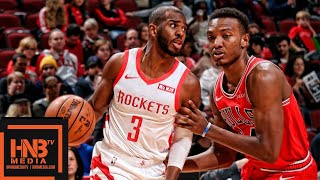 Houston Rockets vs Chicago Bulls Full Game Highlights | 11.03.2018, NBA Season