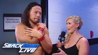 Shinsuke Nakamura reacts to the dream match with John Cena: SmackDown LIVE, July 25, 2017