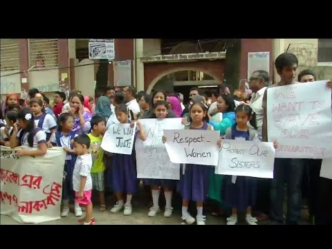 Mohammadpore Preparatory School rape protest  Bangladesh