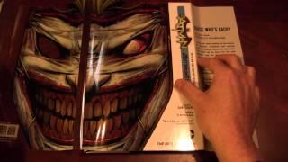 Batman Death of the Family Hardcover Comic Review DC Comics
