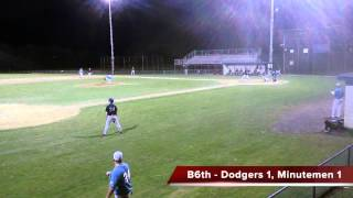 YBL Highlights - Beacon Hill Dodgers at Brighton Minutemen