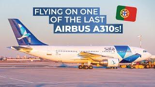 TRIPREPORT | FLYING THE AIRBUS A310 | SATA Internacional | Ponta Delgada-Lajes-Lisbon | Q200/A310