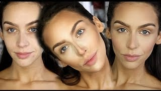 How I Contour & Highlight Carli Bybel