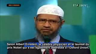 L'Islam & Le 21ème siècle Dr Zakir Naik a Union Oxford Débat Historique  FULL V low