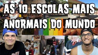 AS 10 ESCOLAS MAIS ANORMAIS DO MUNDO